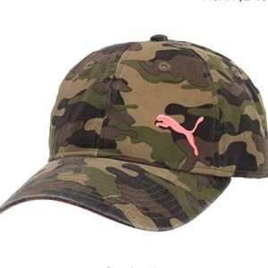 🆕 Puma Evercat Camouflage Baseball Hat
